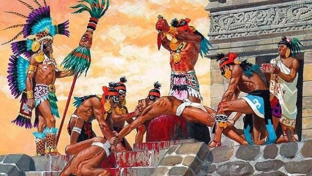 Los presos fueron hervidos vivos y su carne fue comida por los aztecas - P. Joubert