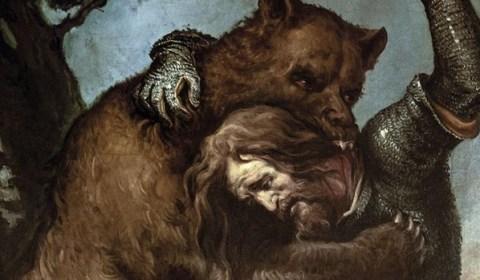 Favila: la absurda muerte del rey español hijo de Don Pelayo a manos de un oso furioso
