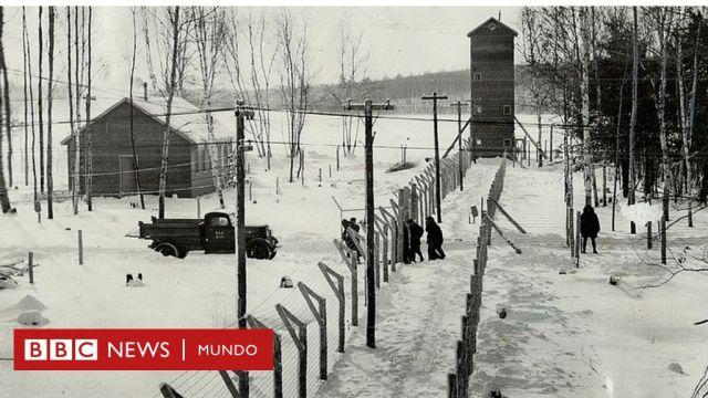 Los campos de internamiento estaban protegidos por cercas electrificadas.