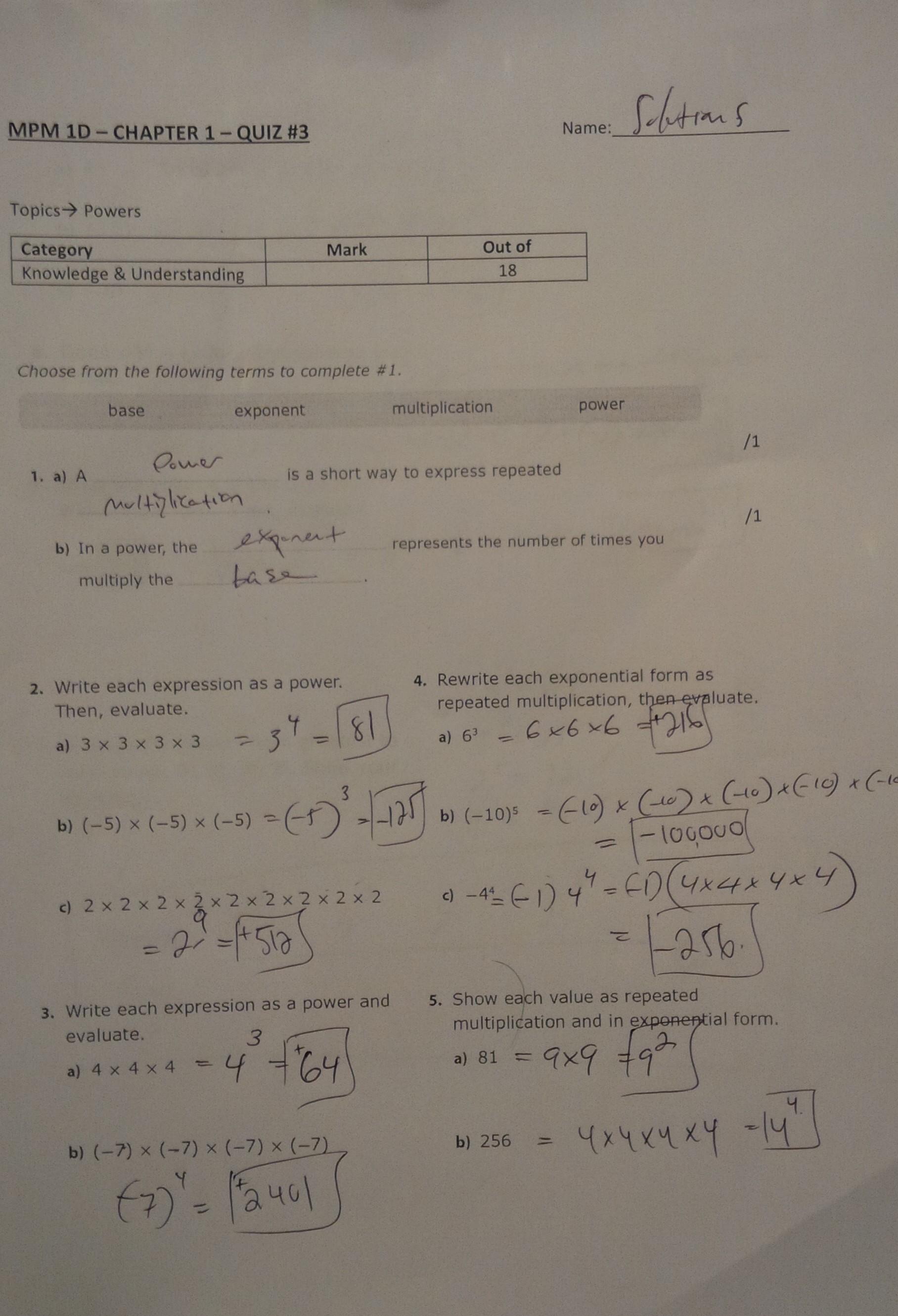 Exploring Math 9 Academic
