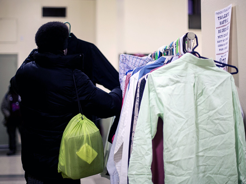 NYC Clothing Room - Xavier Mission