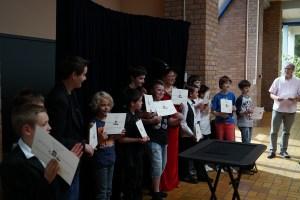 diplôme du magicien de l'école de magie