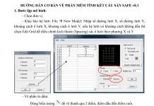 Hướng dẫn cơ bản về phần mềm tính kết cấu sàn Safe