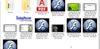 Tài liệu học project có kèm video hướng dẫn