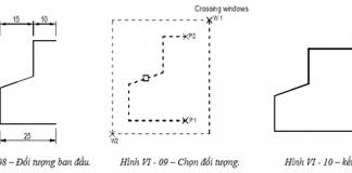 Lệnh đối xứng trong AutoCad MIRROR