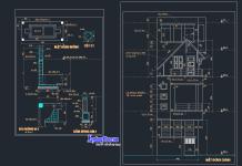 Hồ sơ mẫu nhà phố 5 tầng 5x11m