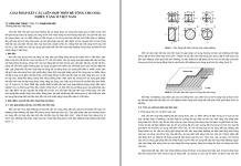 Giải pháp kết câu liên hợp thép bê tông cho nhà cao tầng