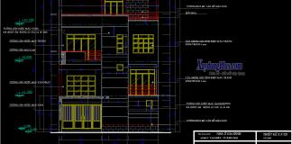 Hồ sơ mẫu biệt thự 9x9m 4 tầng