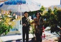 Mẹ và anh Lộc