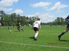 A throwback to High school Recreational Soccer
