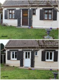 Avant / Après Fenêtre et porte d'entrée PVC