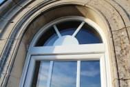 porte fenêtre cintrée