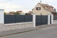 Portail et clôtures alu