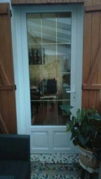 porte d'entrée PVC