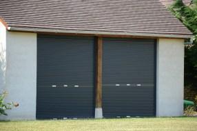 porte de garage alu