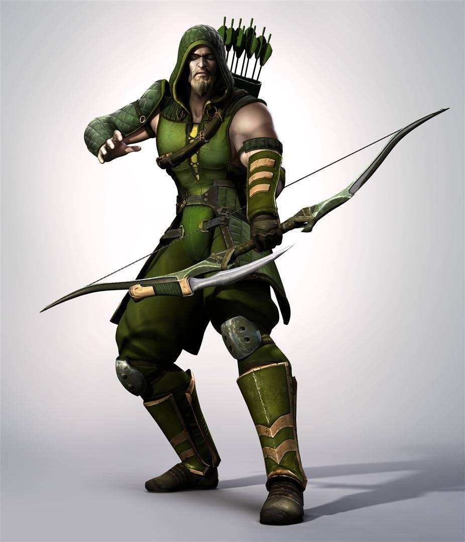 Image Injustice Les Dieux Sont Parmi Nous Archer Vert