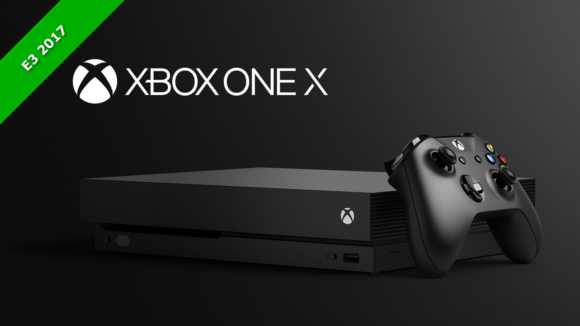 E32017 La Xbox One X Est Enfin L Xbox Worldfr