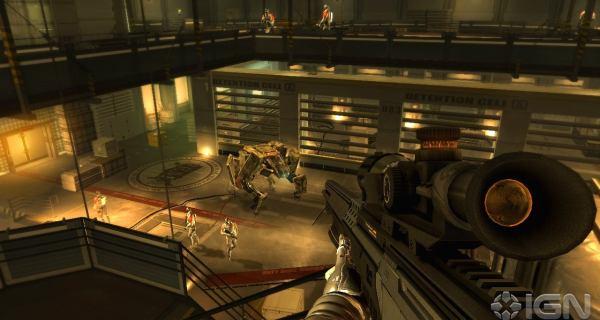 screen shot of pc game deus ex human revolution-2011 download free at worldofree.co