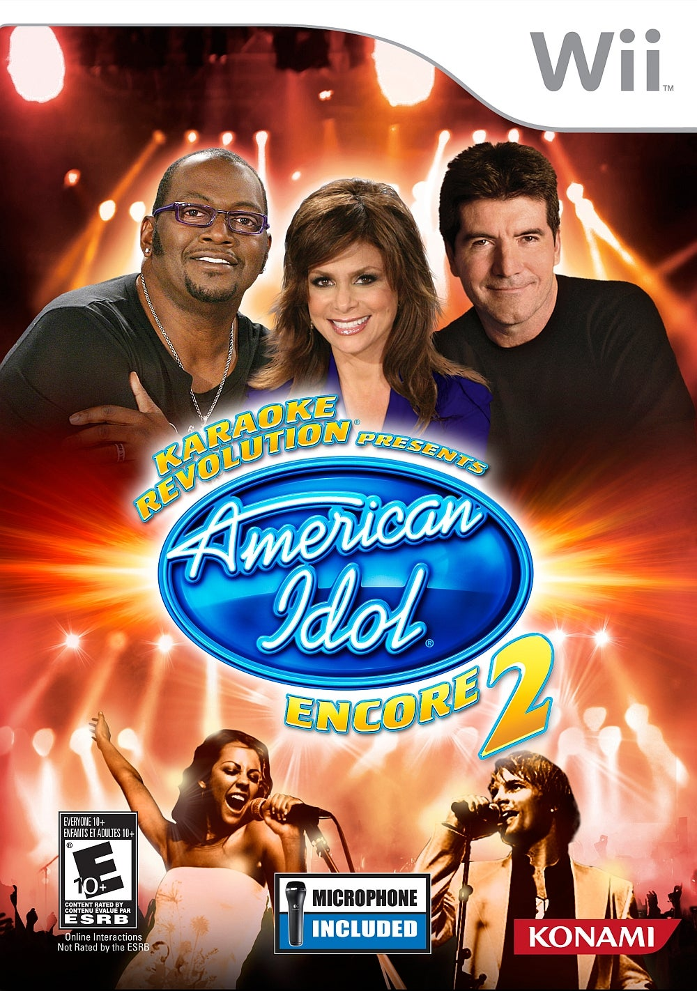 Karaoke Revolution Presents American Idol Encore 2 Wii IGN