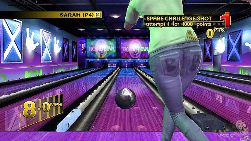 Brunswick Pro Bowling Xbox 360 Game Profile