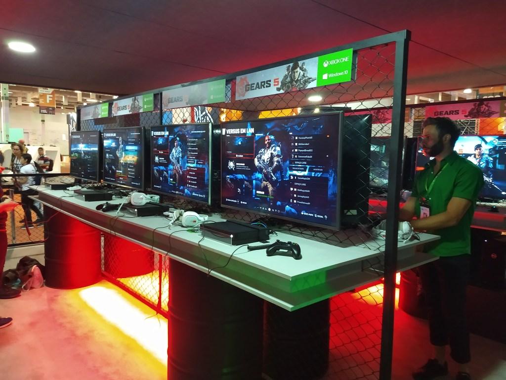 BGS 2019 - Gears 5 no Xbox