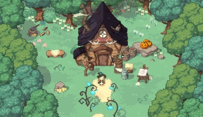 Little Witch In The Woods - Adorable Fantasy Game - myPotatoGames