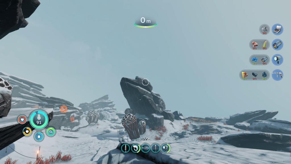 An image of Below Zero's frozen wastes.