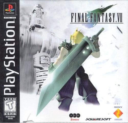 Final Fantasy VII PlayStation IGN