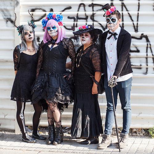 halloween familie