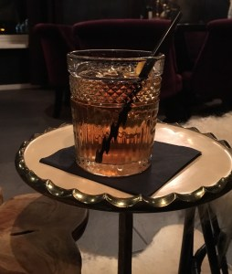 Oldfashioned wintercocktail