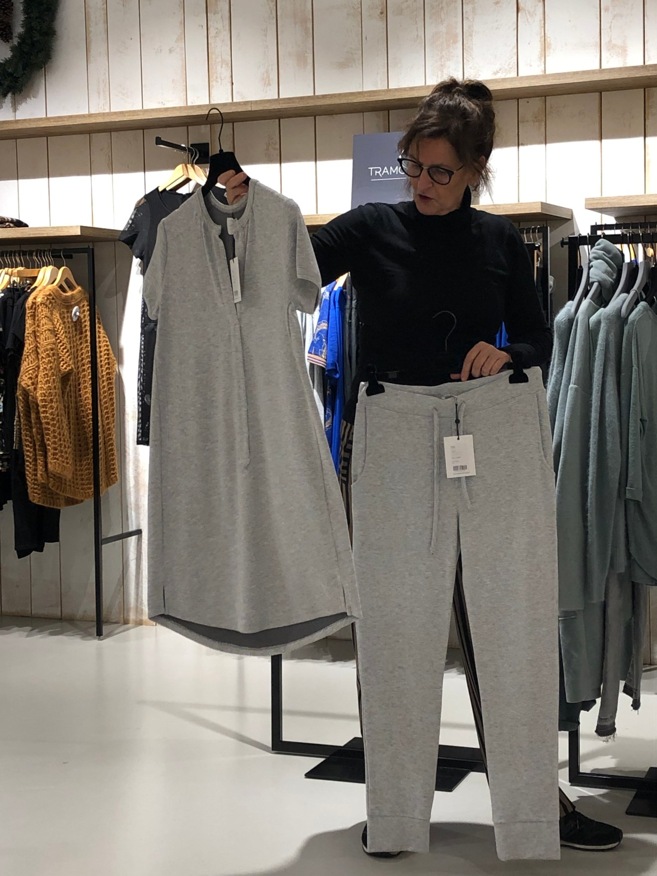 Simple jurkje en pant in joggingstof