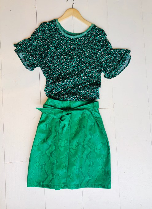 rok groene slang van Aaiko