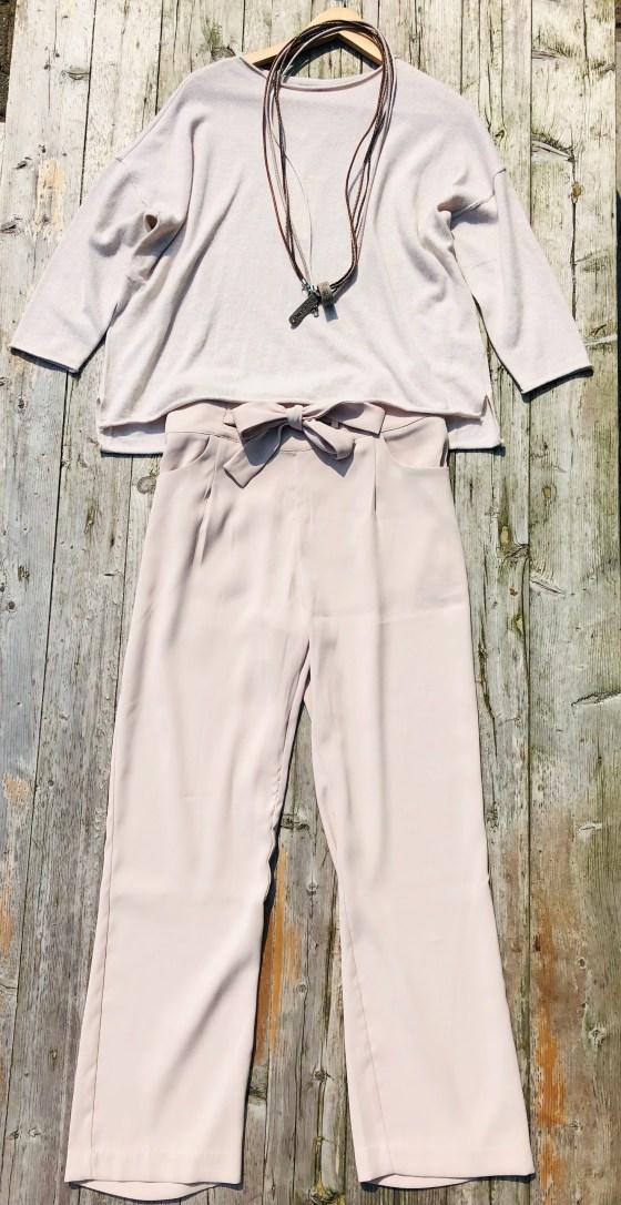 beige pantalon Jc Sophie