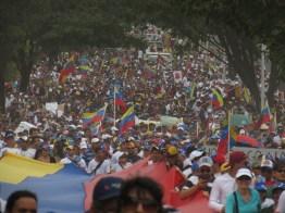 Guayana en la calle como una ola de esperanza, 22-02-2014.