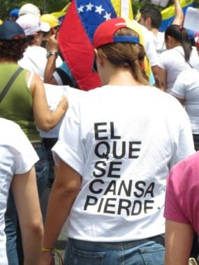 Sentimiento nacional, Puerto Ordaz, 22-03-2014.