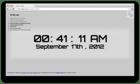 12 hour w/ date w/o weekday