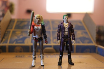 Harley and Joker out of the package