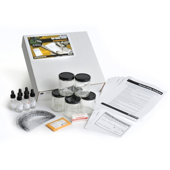 An Inky Lead Questioned Documents Analysis Kit