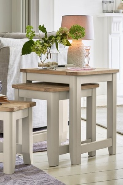 Painted Huxley Nest Of 3 Tables