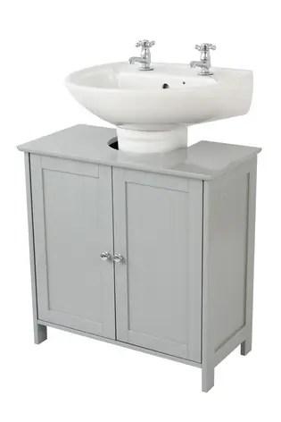 lloyd pascal grey painted under sink storage