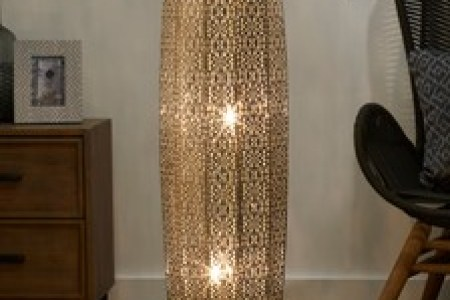 Floor Lamps   Tripod   LED Floor Lights   Next Official Site Large Oriana 3 Light Floor Lamp