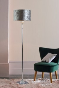 Floor Lamps   Tripod   LED Floor Lights   Next Official Site Velvet Floor Lamp