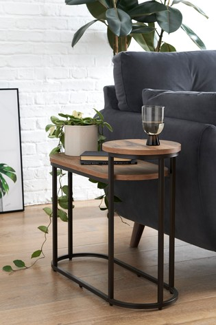 Buy Bronx Tiered Side Table Bedside From The Next Uk Online Shop