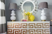 home-office-dresser-vignette-diy-greek-key-decor-overlays