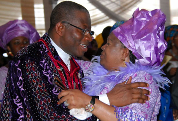 Rejoice with us, Not Weep for Us - Patience Jonathan Tells Nigerians