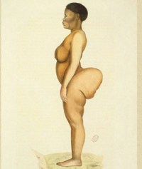 Kim Kardashian's photo subtly evokes the image of Saartjie Baartman