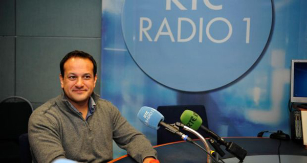 Irish minister for Health Leo Varadkar