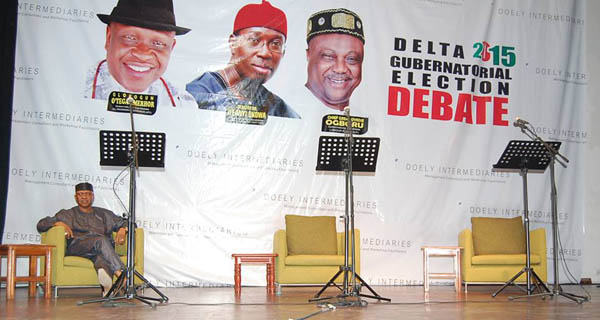 Missing in Action: Delta State People's Democratic Party (PDP) governorship candidate Senator Ifeanyi Okowa