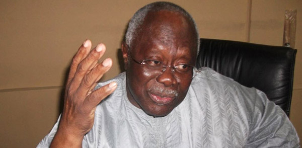 Leader of the People's Democratic Party (PDP) in Lagos State, Chief Bode George