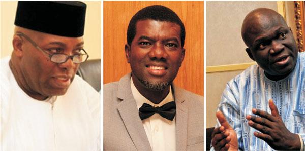 Miscerious Trio: Doyin Okupe, Reno Omokri and Reuben Abati